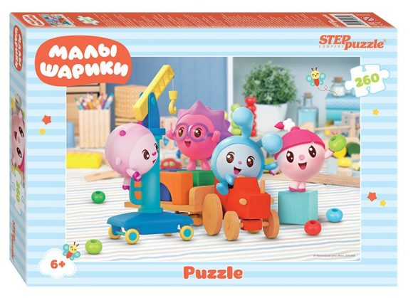 Мозаика puzzle 260 Малышарики (Мармелад Медиа)