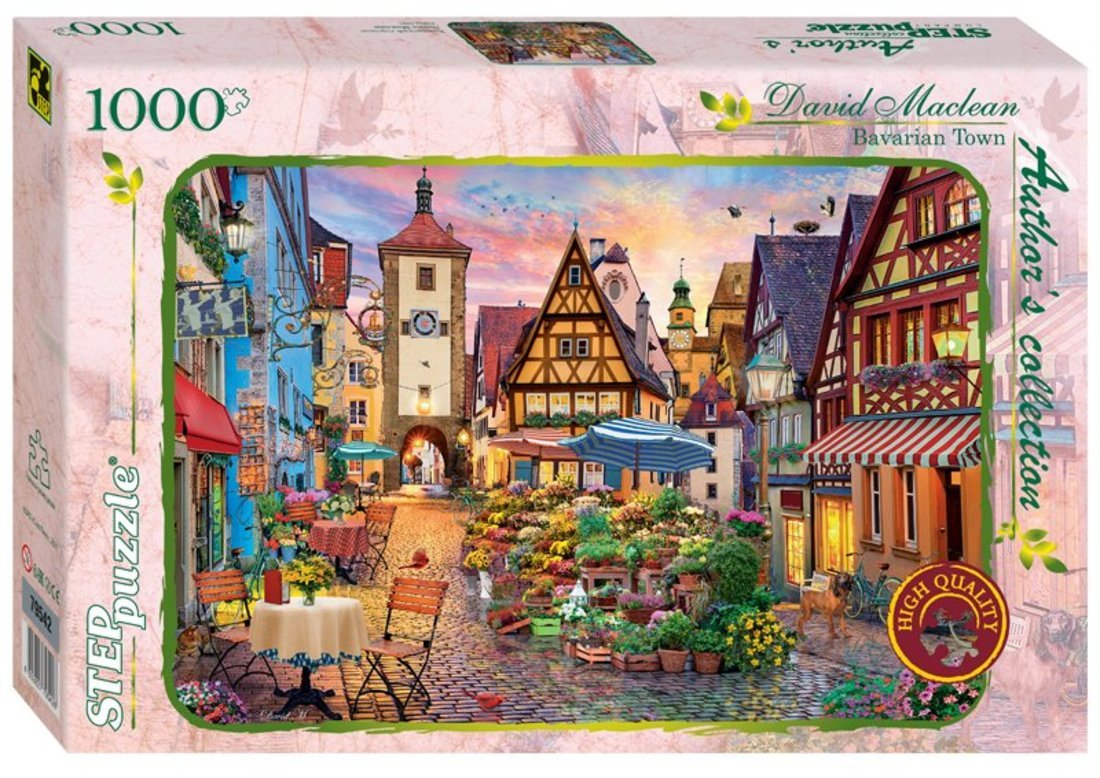 79542 Мозаика puzzle 1000 Баварский городок