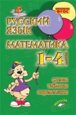 Рус. яз. Математика 1-4кл Схемы, таблицы, определ