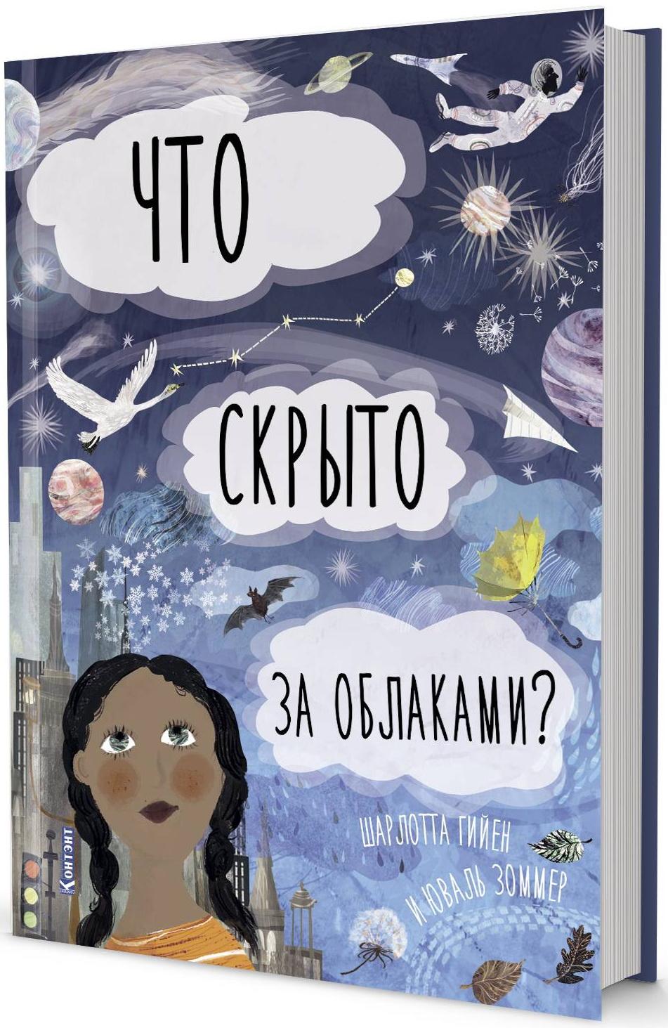 ДЛ: Что скрыто за облаками? Книга-раскладушка для детей и взрослых