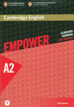 Cambridge English Empower Elementary WorkBook With Answers