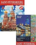 Санкт-Петербург и пригороды.На французском языке