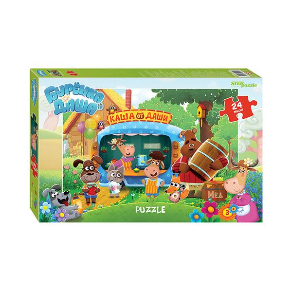 90054 Мозаика puzzle maxi 24 Буренка Даша