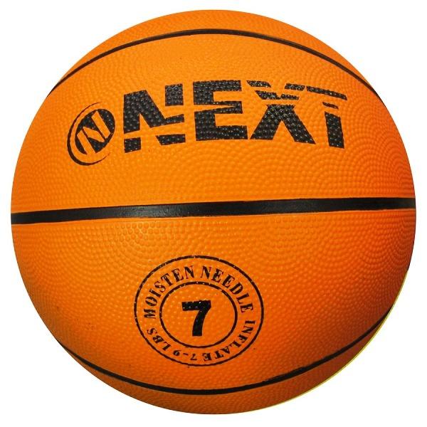 Мяч баскетбольный Next, р.7. резина + игла для насоса в пак.арт.BS-550 /.40шт