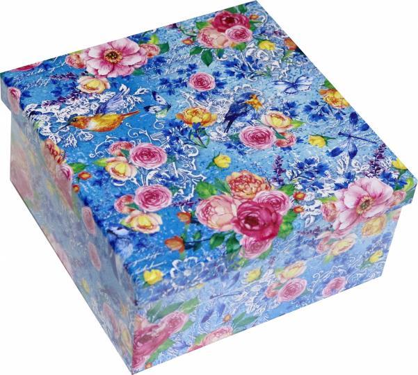 Коробка Лирика 14х14х7см НПК-7565