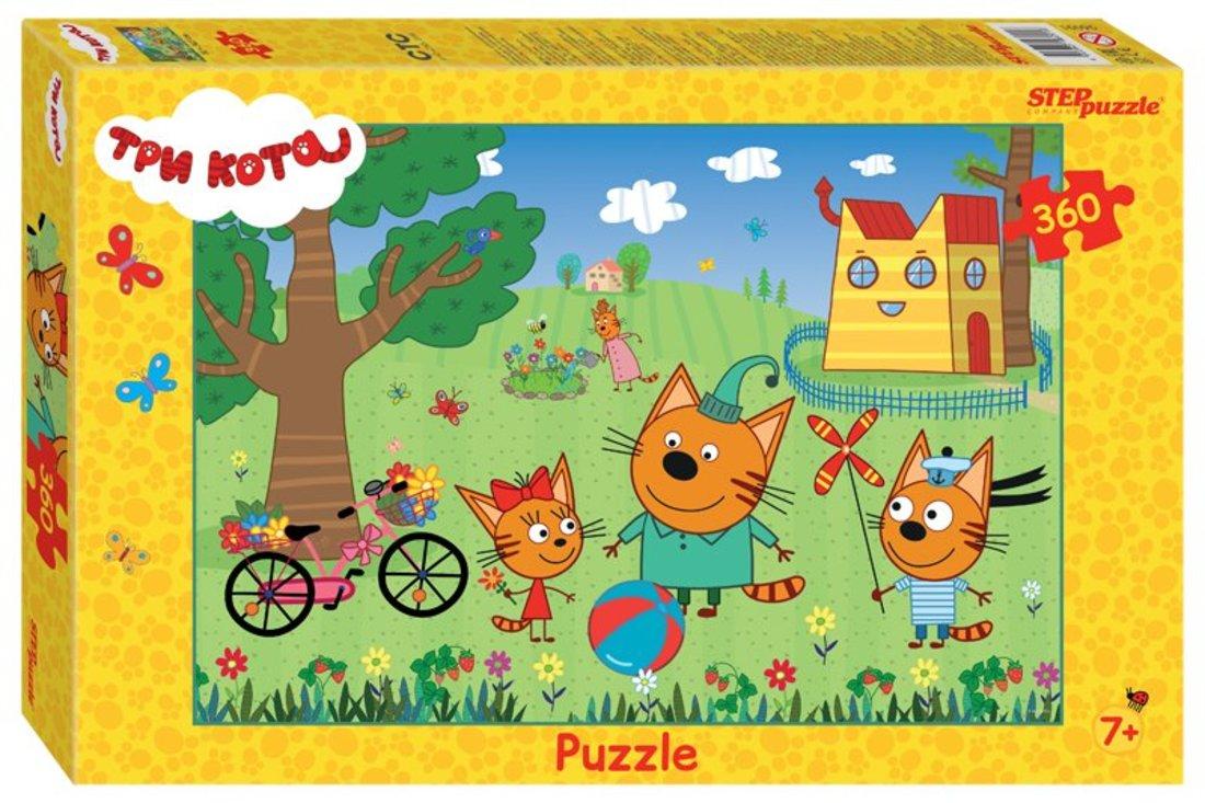 96091 Мозаика puzzle 360 Три кота